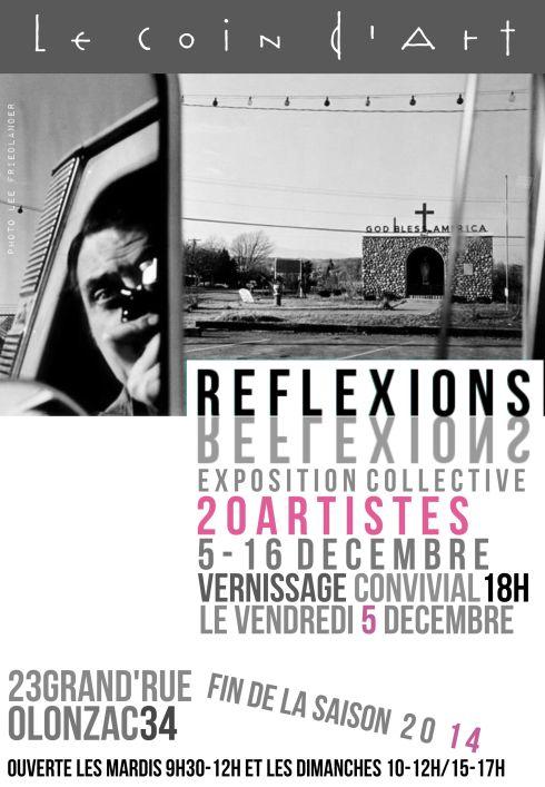 """Expo à thème : """"réflexion"""""""