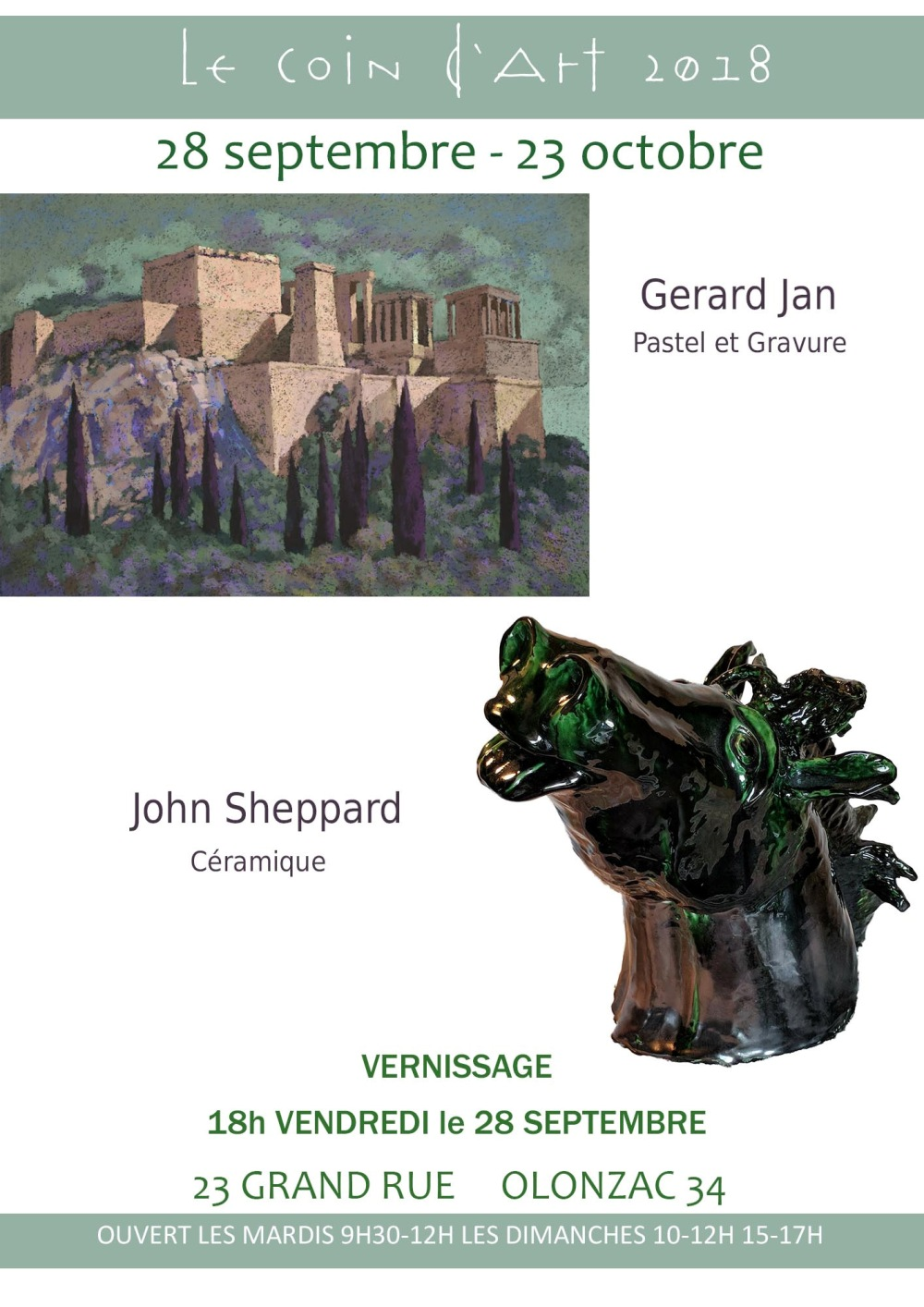 gerard jan-john sheppard poster